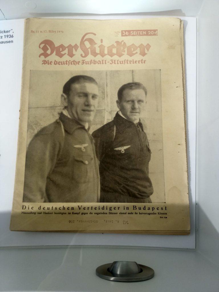 "Okładka ""Kickera"" z 1936 roku"