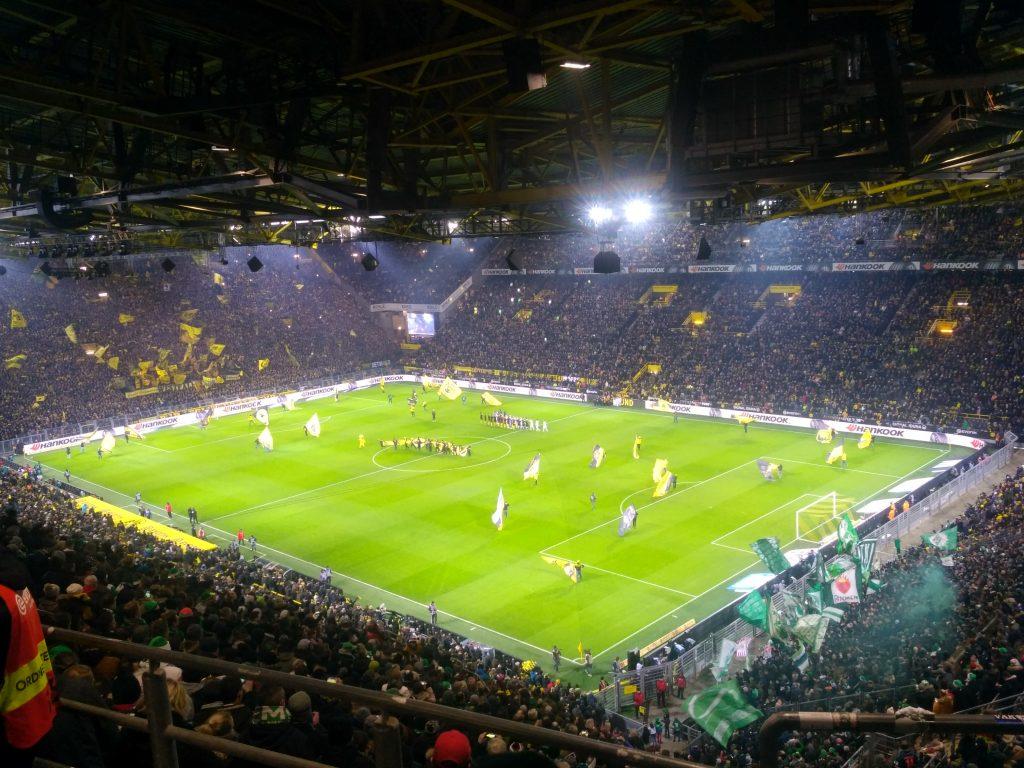 "Westfalenstadion (""Signal Iduna Park"") podczas meczu z Werderem 15.12.2018"